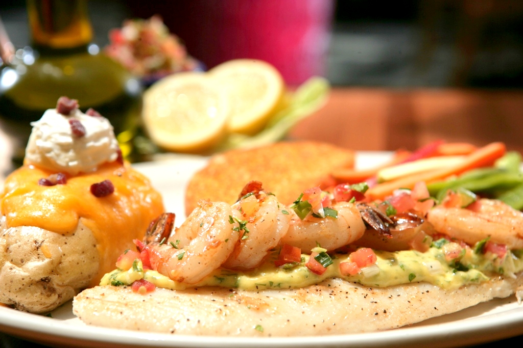 Aioli Fish & Shrimp Platter