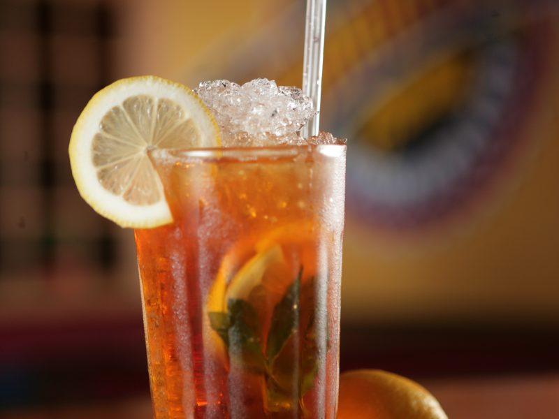 lemon red ice tea